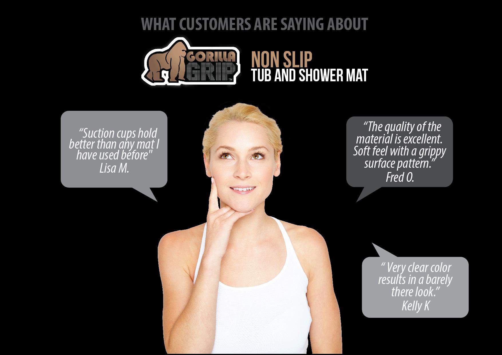 Best Non Slip Shower Mat Shining Home Design